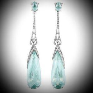 Jewelry - Aquamarine Dangle Earrings